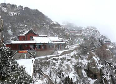60秒|银装素裹美如画!山东多地迎来今冬首场降雪
