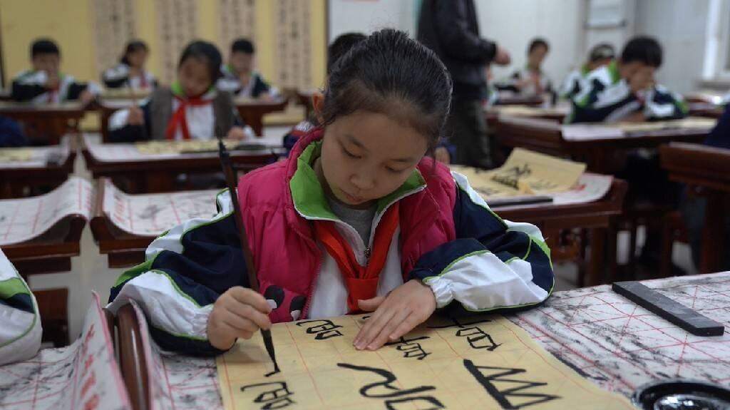 全市唯一!泰安岱岳区岳峰小学入选省级甲骨文特色学校