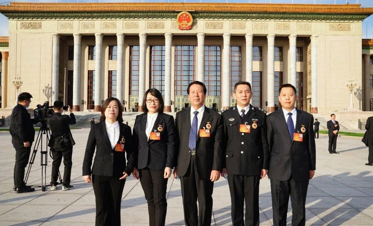 日照5人在北京接受表彰!
