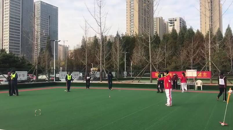 23秒丨日照市第三十届老年人门球比赛开赛 共有16支队伍200余名运动员参赛