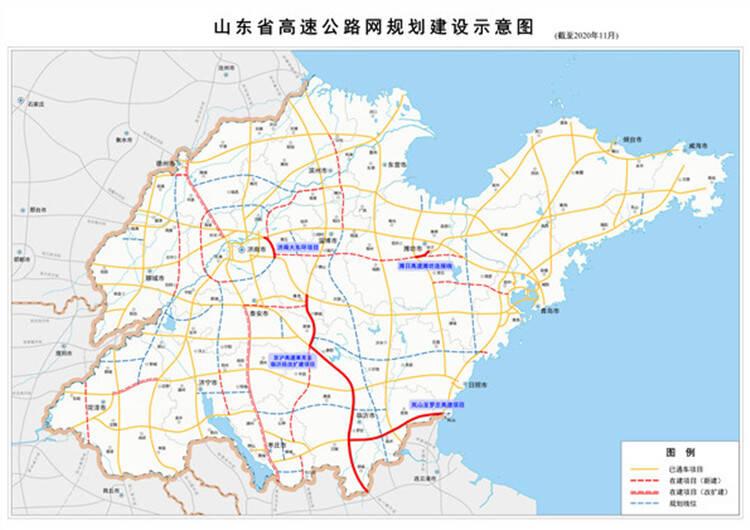 贯通南北 串联东西 联通海陆 四条高速同日建成通车