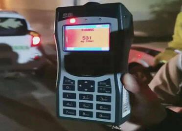 43秒丨超醉驾标准6倍!德州查获一酒司机 酒精浓度刷新当地纪录