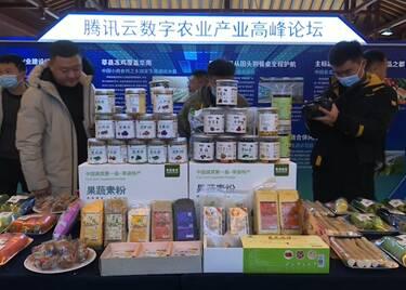 45秒|腾讯集团首个农业数字经济产业基地落户聊城莘县