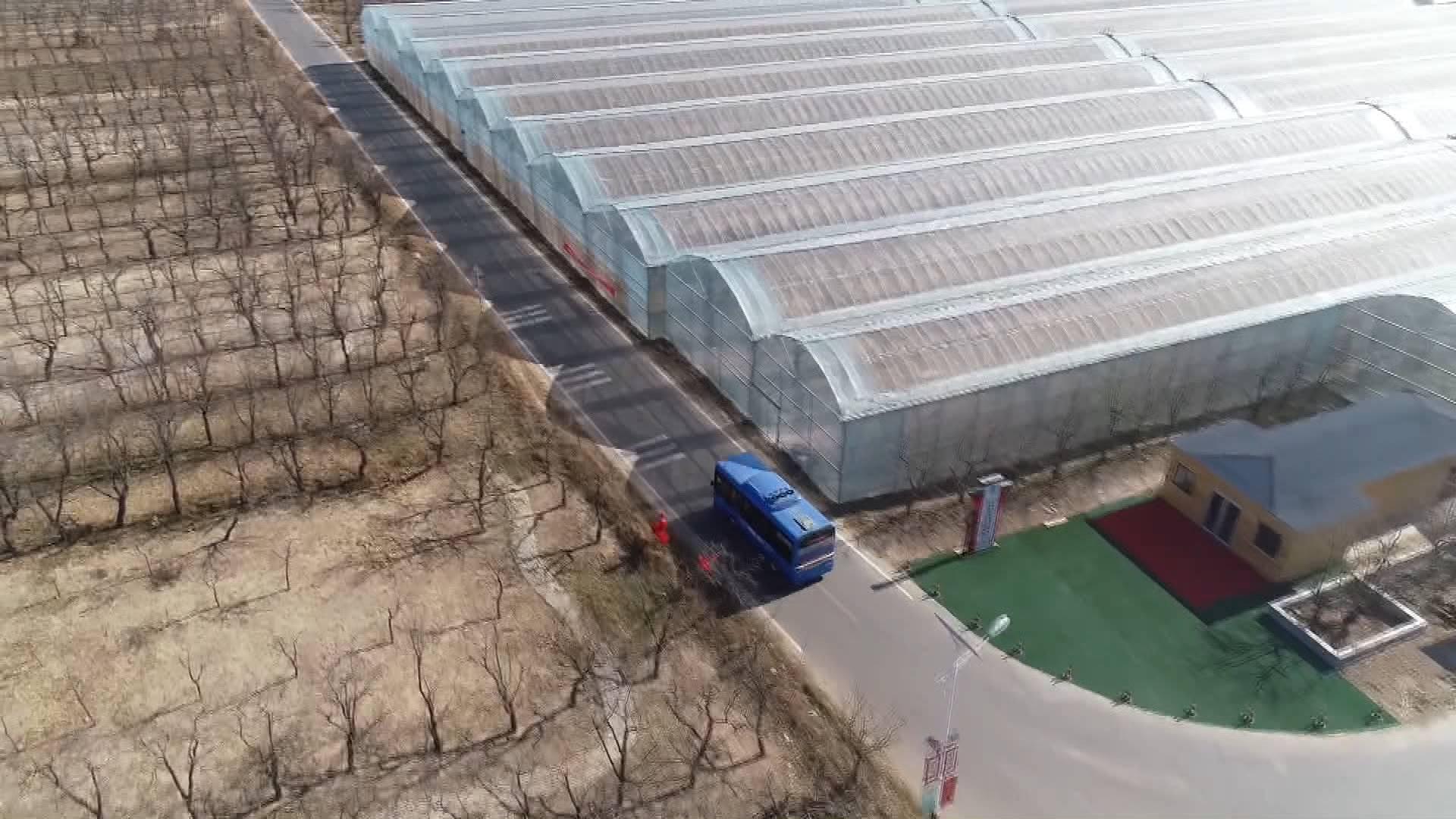 德州乐陵村村开通新能源公交 快递送到家门口