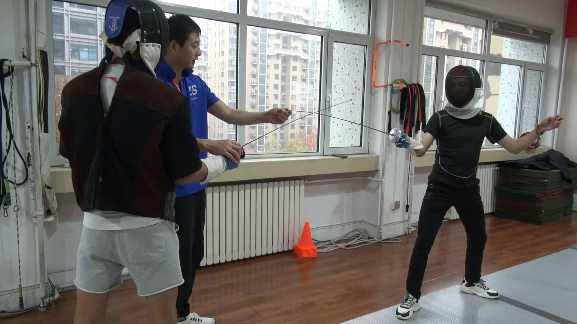 149秒丨青海小伙济南击剑求学记:希望将击剑体育带回青海