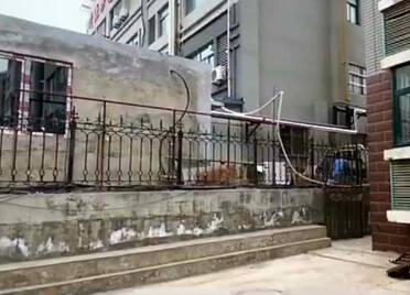 潍坊市奎文区恒联南苑小区新建换热站竟是违建 且离家只有3米多