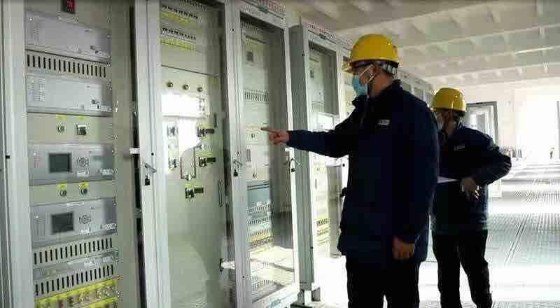 山东省首家220千伏智慧变电站——天平变电站在泰安成功投运