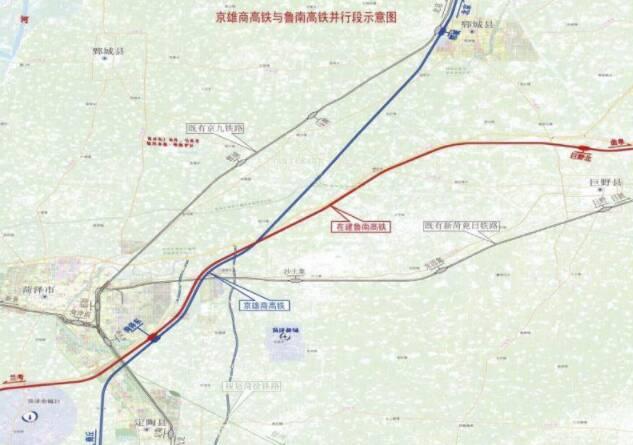 京雄商高鐵項目正式進入實施階段,未來聊城到北京用時1.5小時,菏澤段或建聯絡線