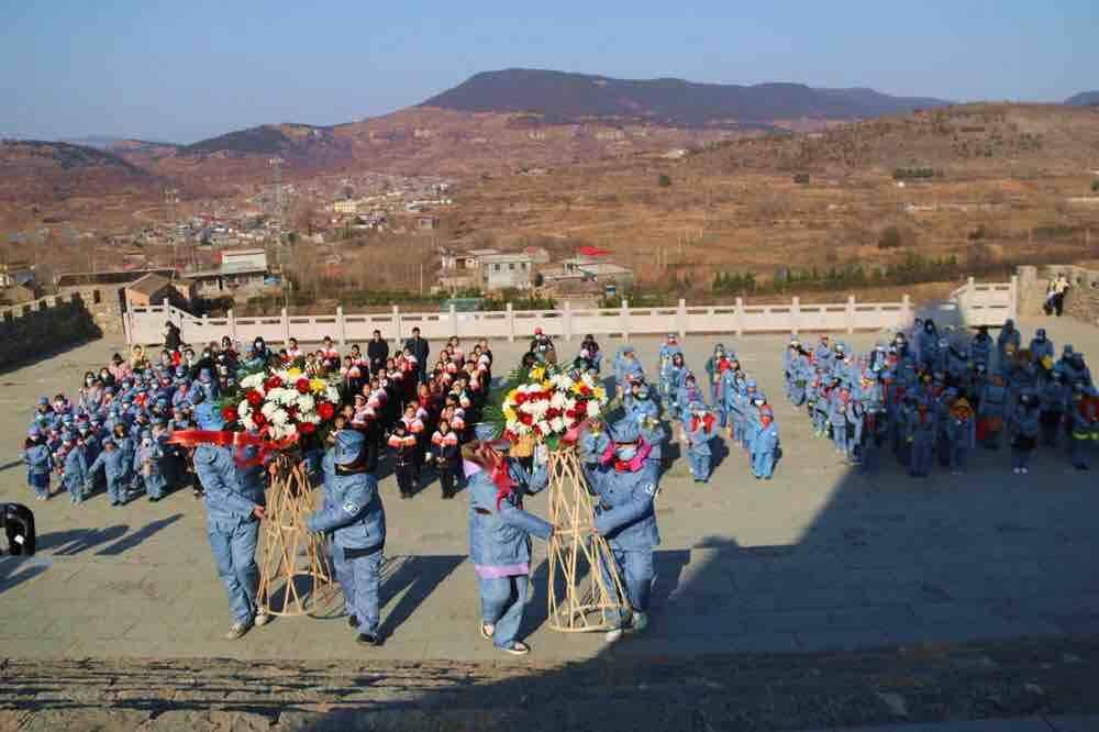 铭记历史,勿忘国耻!枣庄山亭抱犊崮115师纪念园举行国家公祭日悼念活动