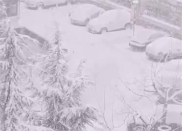 出行注意安全!文登部分地区降雪量已达暴雪级