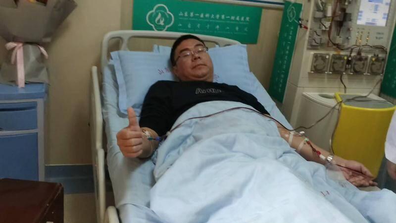 接到红十字会的电话很激动,山东造干细胞捐献者王坤:配型成功是一种幸运