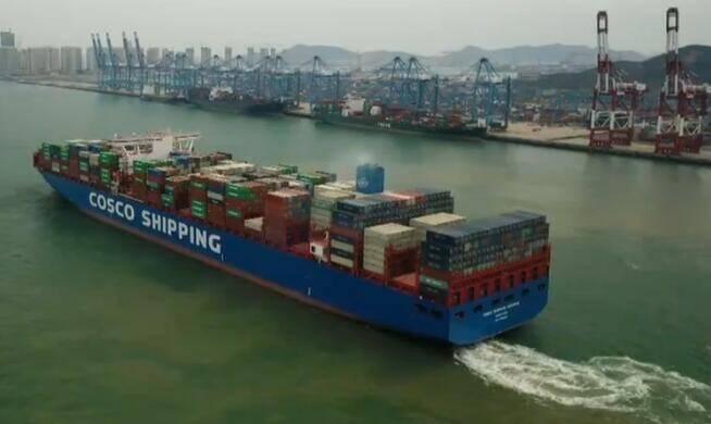 """山东优化流程设计""""船到即提""""新模式 推动外贸进出口货物高效流转"""