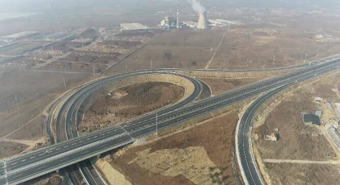 37秒 临沂再添南北大通道,新台高速建成通车,途经平邑、蒙阴!
