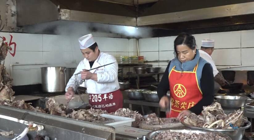 44秒|当南方人在枣庄碰上冬至:喝羊汤成最高礼遇