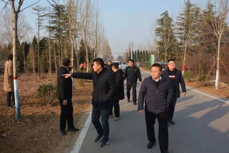 枣庄高新区张范街道召开路域环境整治现场推进会