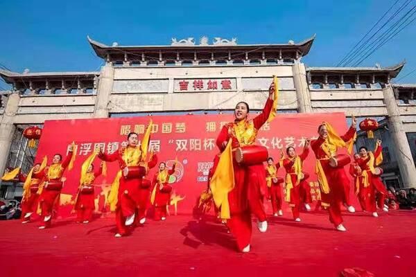 成武白浮图镇:连续七年举办农民文化艺术节
