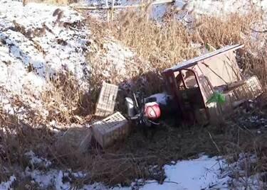 聊城一村民雪夜迷路摔进坑里险冻死,民警地毯式搜寻救人一命