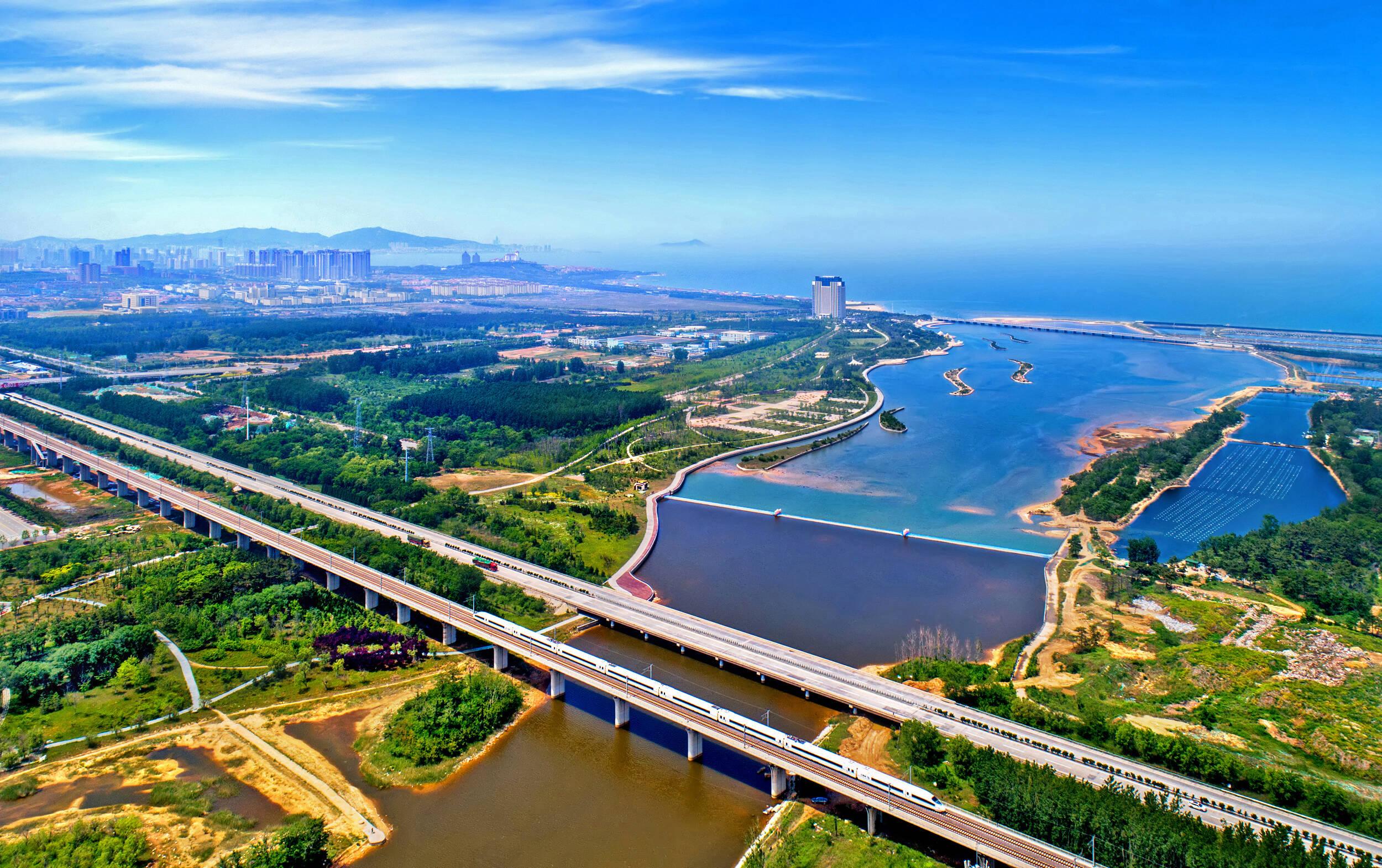 烟台高新区辛安河被评为省级美丽河流