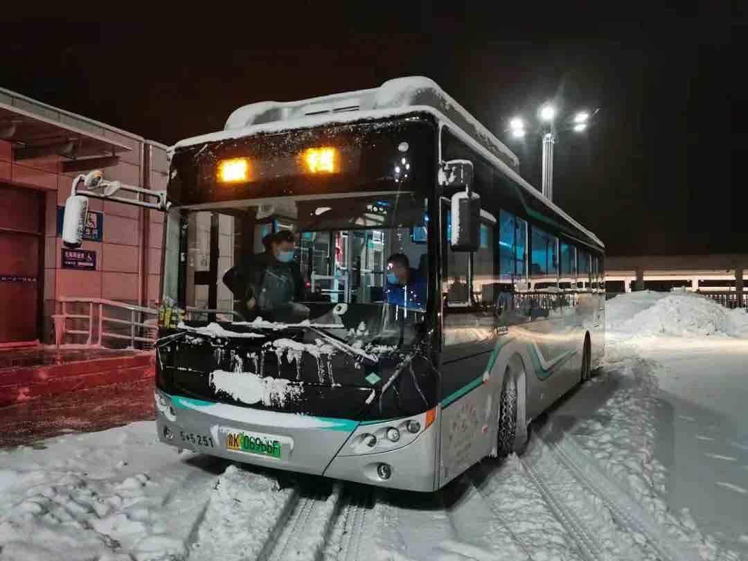道路结冰!1月8日威海文登区最新公共交通出行信息来了