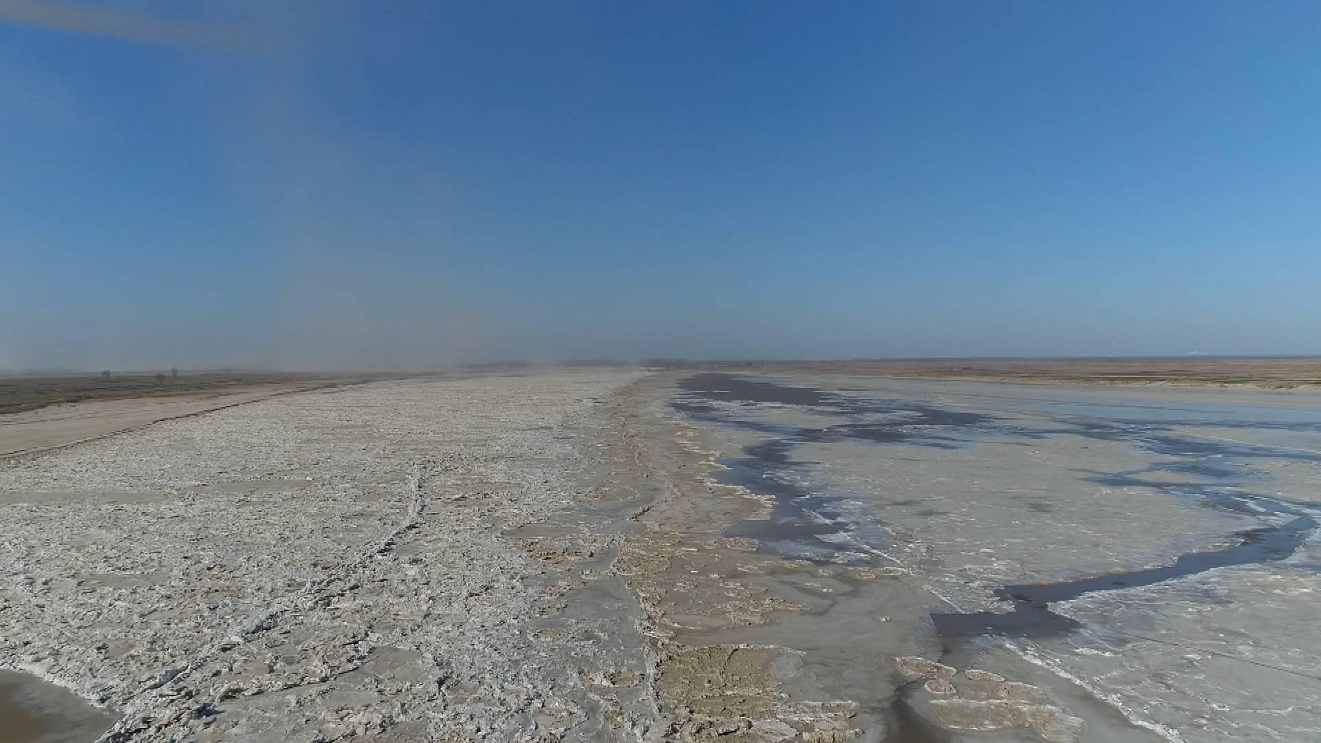 87秒丨黄河东营段首现封河 最大冰块面积300平方米