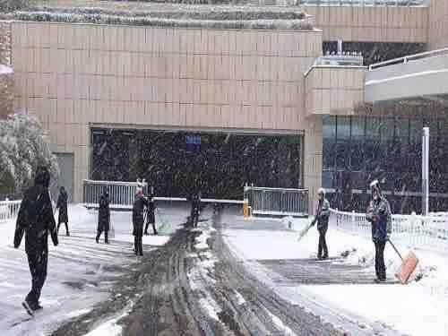 齐心协力战严寒!威海市交通运输系统顶风冒雪保畅通