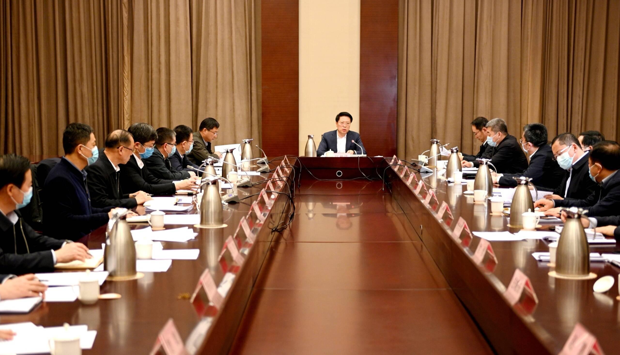 淄博市委财经委员会召开第六次会议