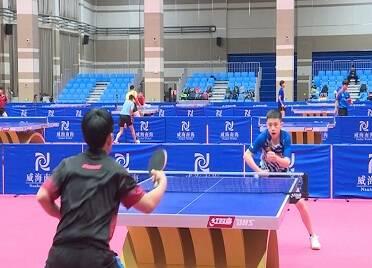 45秒丨为期33天!国家乒乓球青少集训队来威海南海新区集训