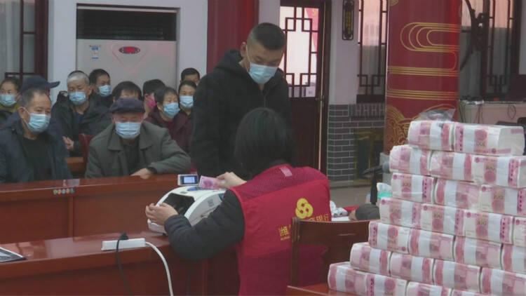 40秒丨潍坊寒亭这个村每人分红3600元 村民日子越过越好