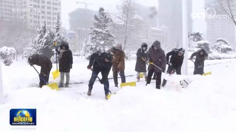 央视《新闻联播》:威海荣成启动除雪应急预案,保障市民出行便利