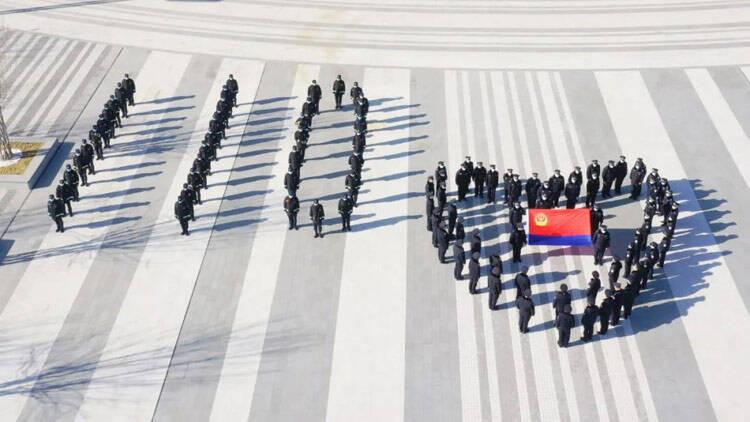致敬警察节丨滨州开发区警方:满满的仪式感 我的警队我来秀