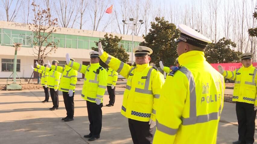 33秒丨向首个中国人民警察节致敬!枣庄山亭公安开展实战技能比武