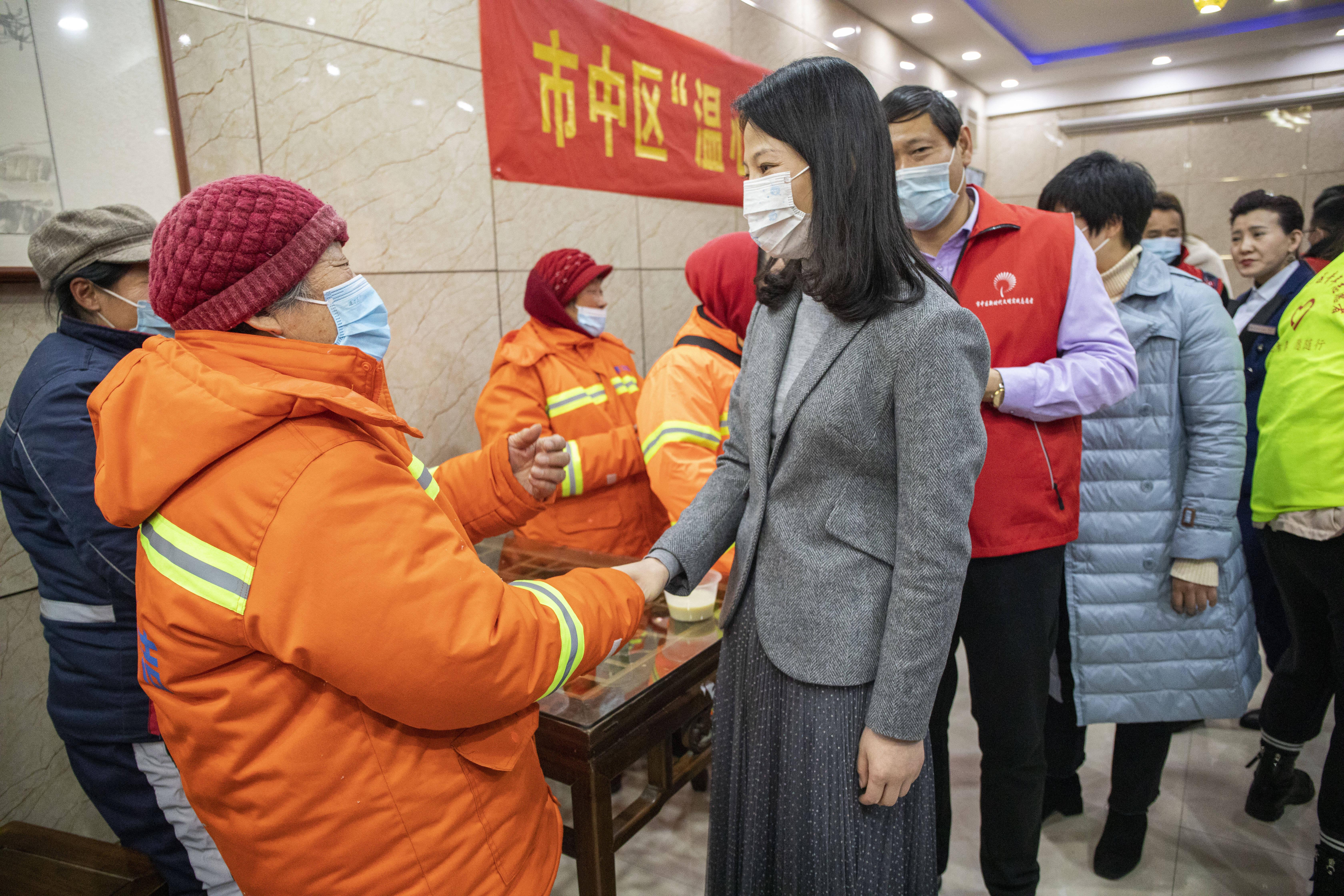 """枣庄市市中区首批35家""""温心驿站""""集中启用"""