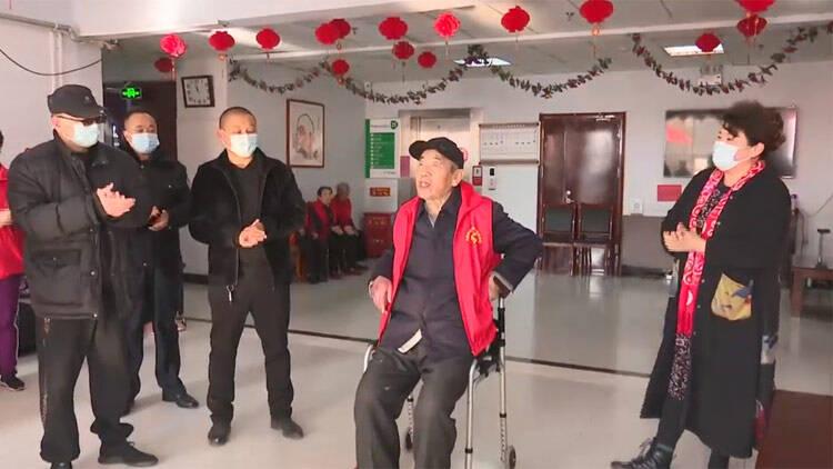 45秒|滨州无棣:寒冬祝福送进敬老院 让老人们温暖过冬