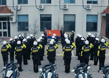 62秒 致敬中国人民警察节!威海公安举行多种活动庆祝首个中国人民警察节