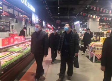 潍坊市集中监管专仓已累计出仓货物3981吨 至今未发现阳性样本