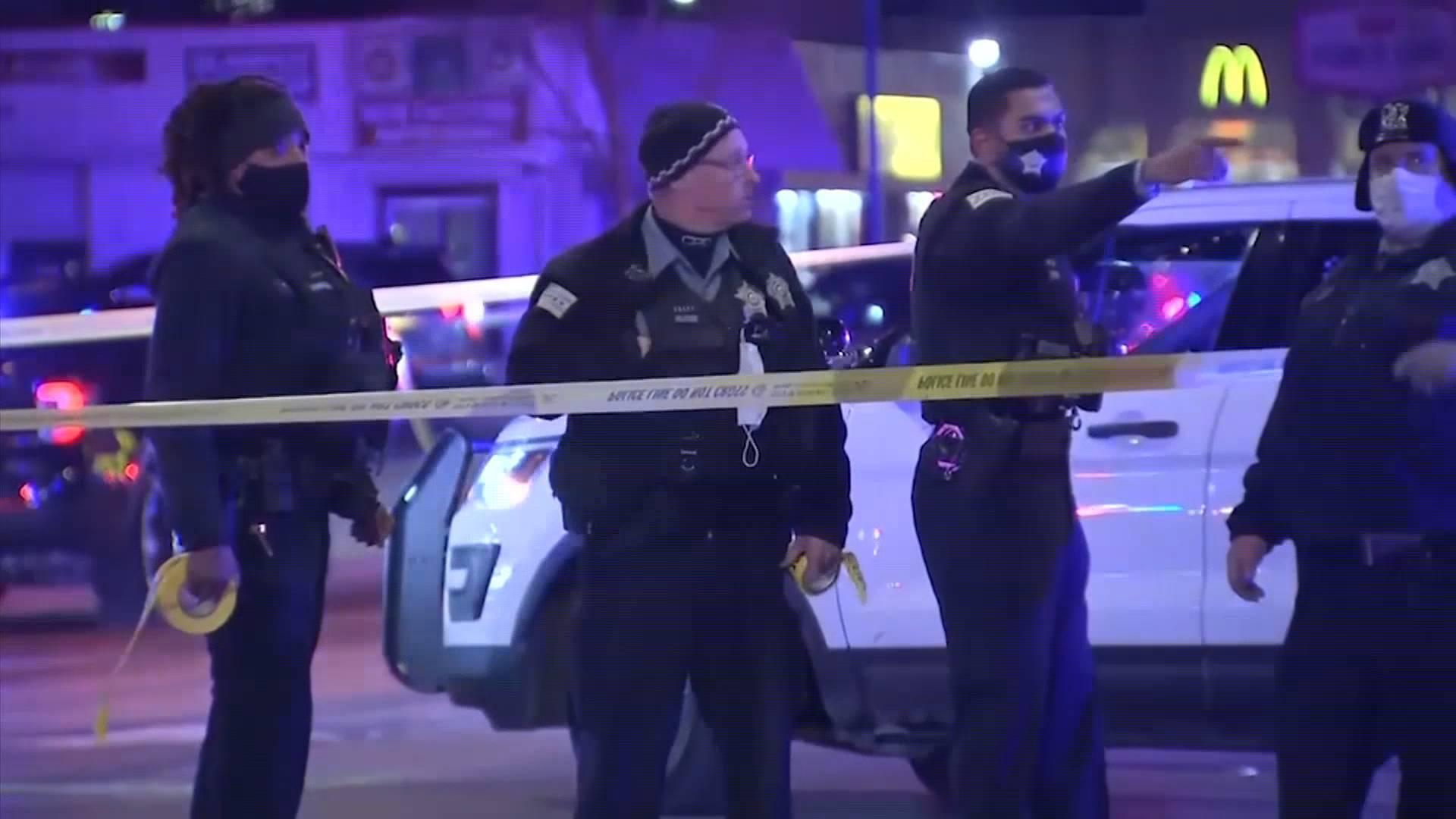 50秒丨芝加哥系列枪击案持续4小时 致3死4重伤