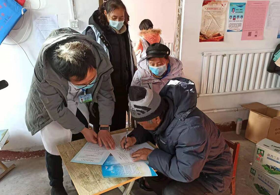 日照莒县:一家三口同时签订遗体(角膜)捐献申请表