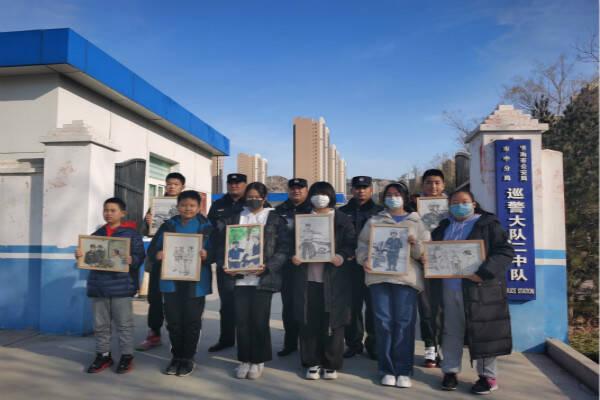 你好,警察节丨济南市中民警收到一份特殊的祝福