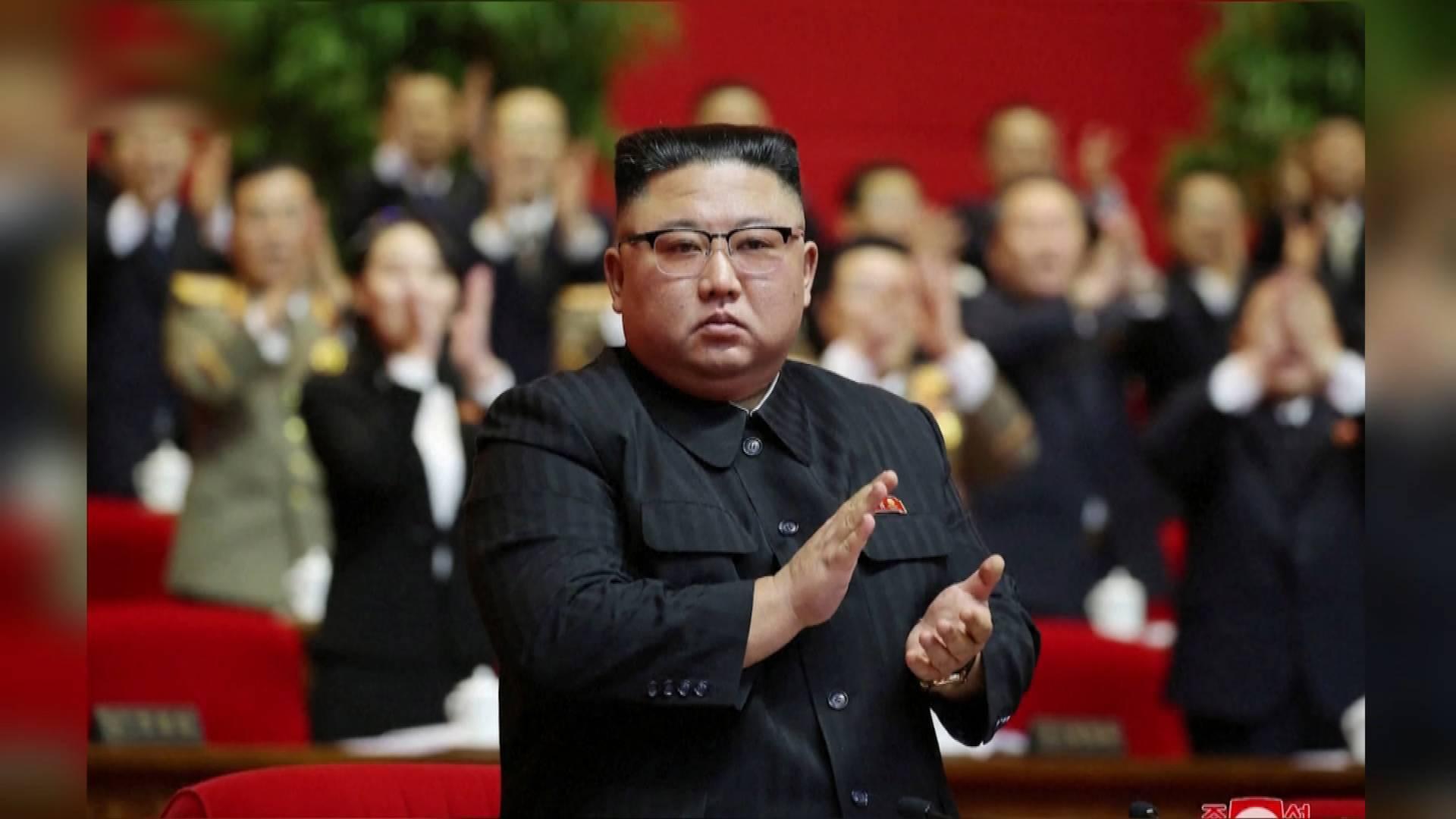 65秒丨金正恩被推举为朝鲜劳动党总书记