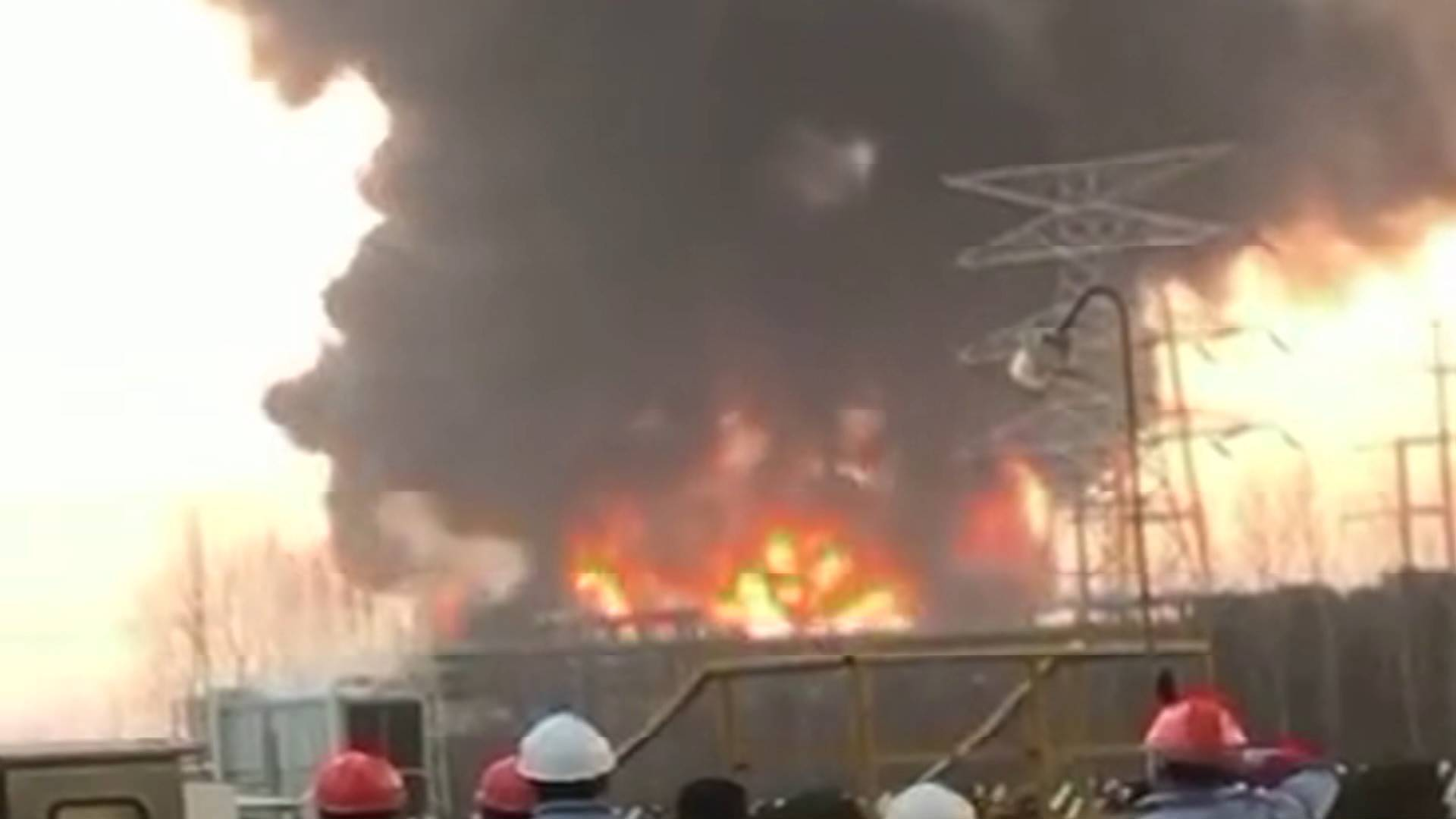 25秒|南京扬子石化丁苯装置发生爆炸起火