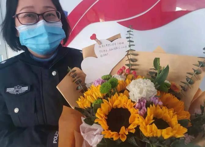鲜花、蛋糕、匿名外卖 警察节那天感动滨州公安的暖人瞬间