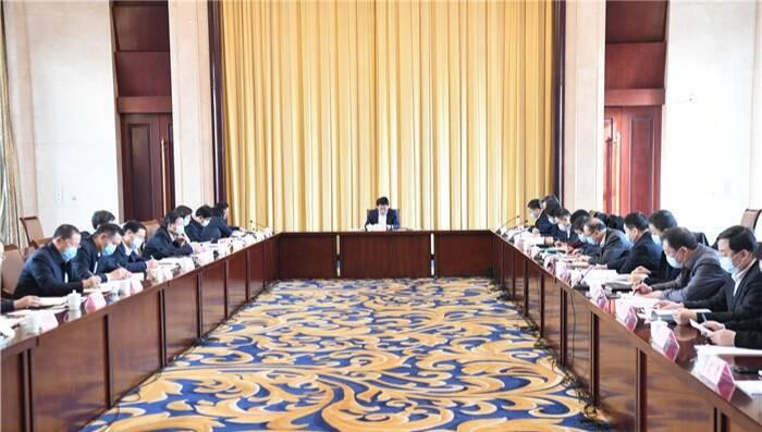 淄博市委人才工作领导小组会暨成员单位述职会议召开