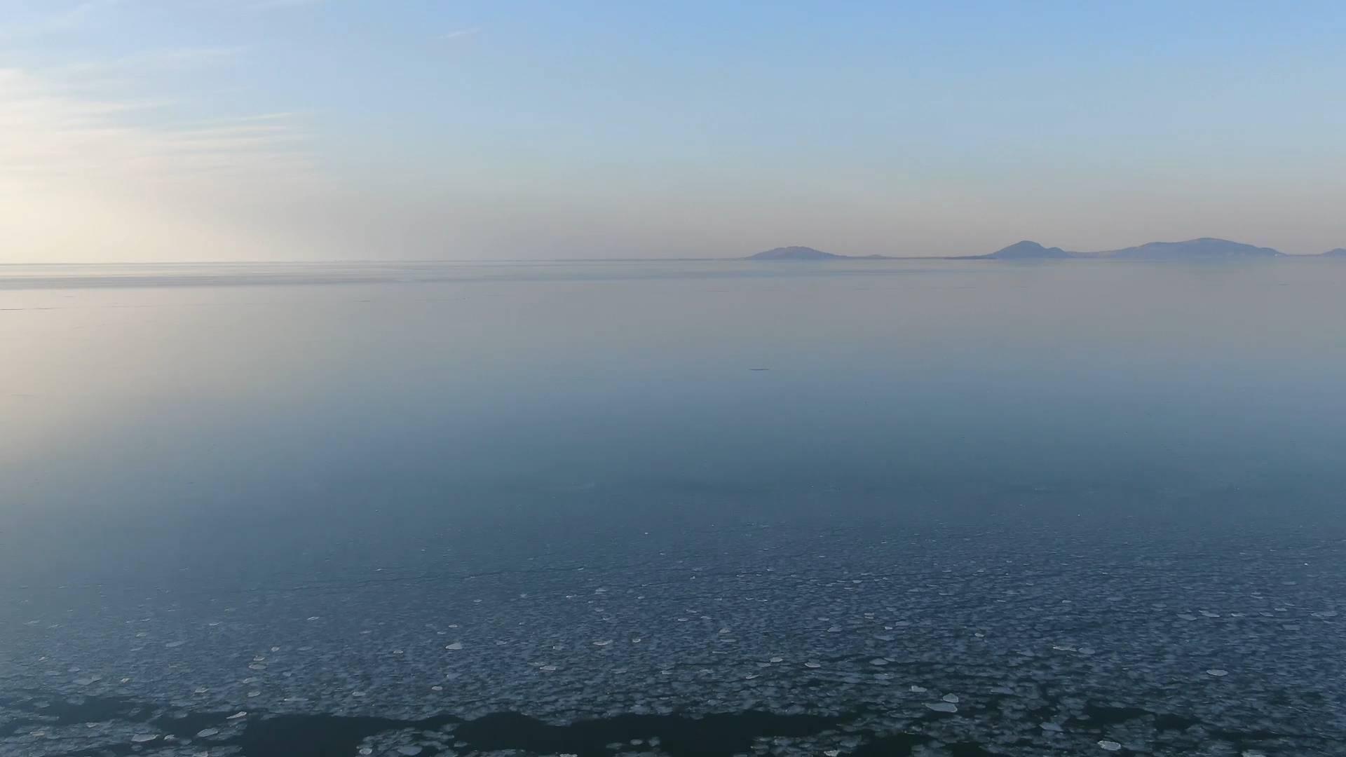 冰封水泊三千里 寒天大美东平湖
