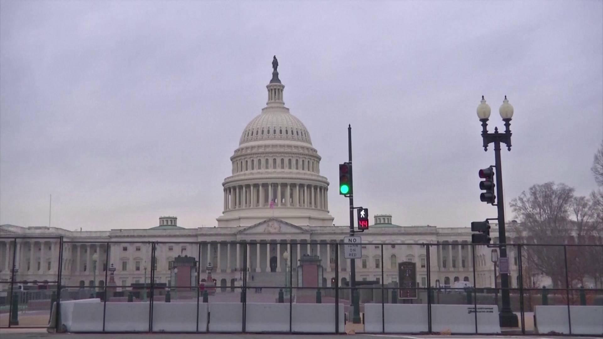 69秒|美众院通过决议要求彭斯引用宪法第25条修正案罢免特朗普
