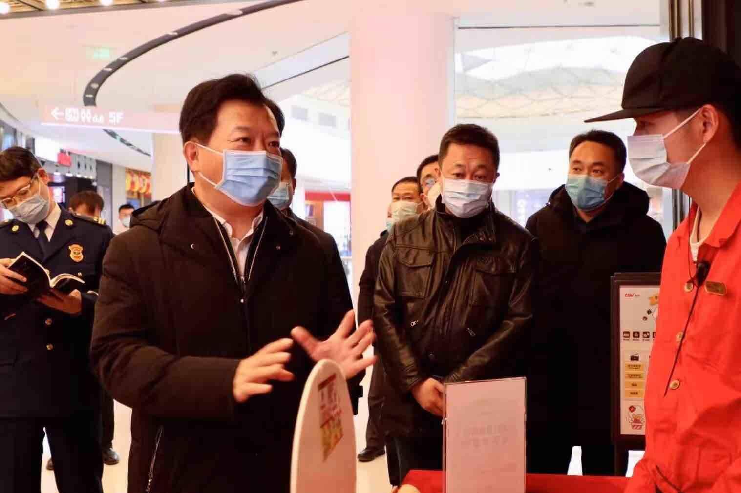 """不打招呼直奔现场 济南市副市长郑德雁带队以""""四不两直""""方式督导检查安全生产"""