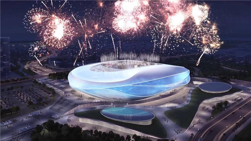 127秒|2023年亚洲杯主场馆加紧推进 6月份主体封顶