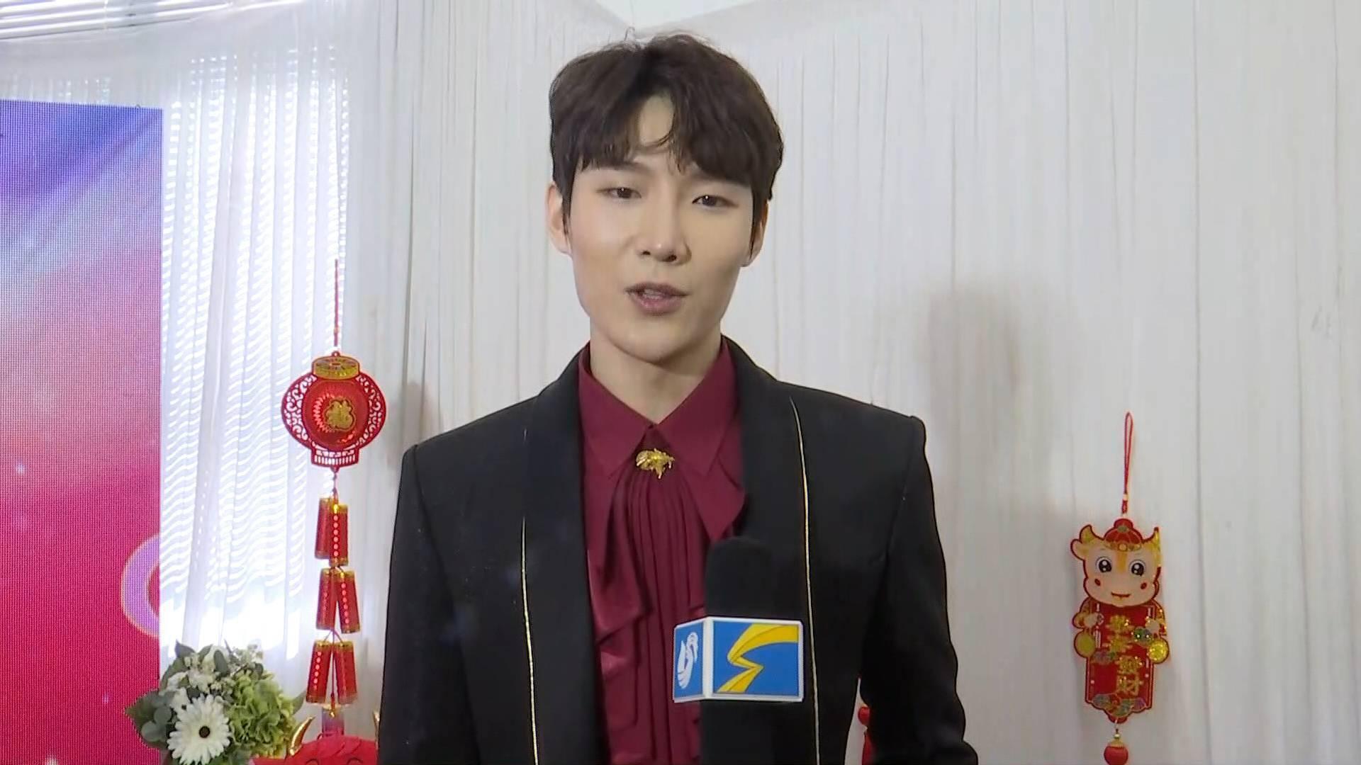 14秒丨山东广播电视台新闻频道上线 歌手张超送上祝福