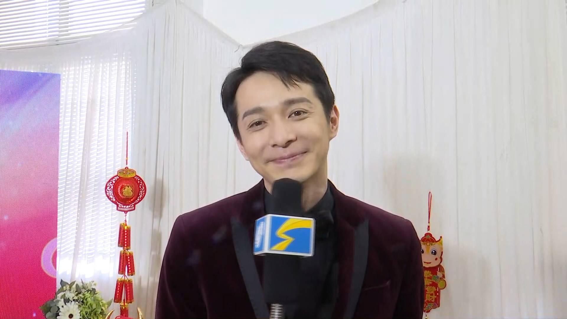14秒丨山东广播电视台新闻频道上线 演员刘智扬送上祝福