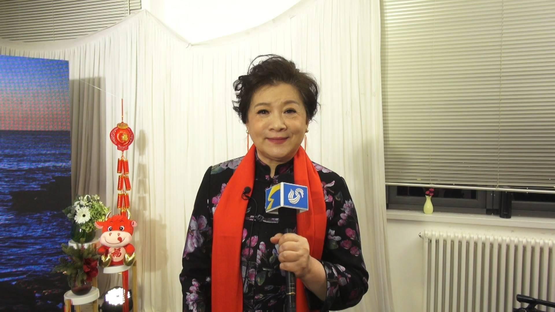 17秒 山东广播电视台新闻频道上线 演员杜宁林送上祝福