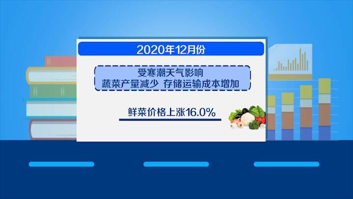 数据视场 2020年山东居民消费价格指数比上年同期上涨2.8%